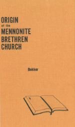 Origin of the Mennonite Brethren Church