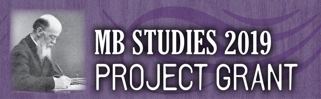 MB Studies 2019 Project Grant