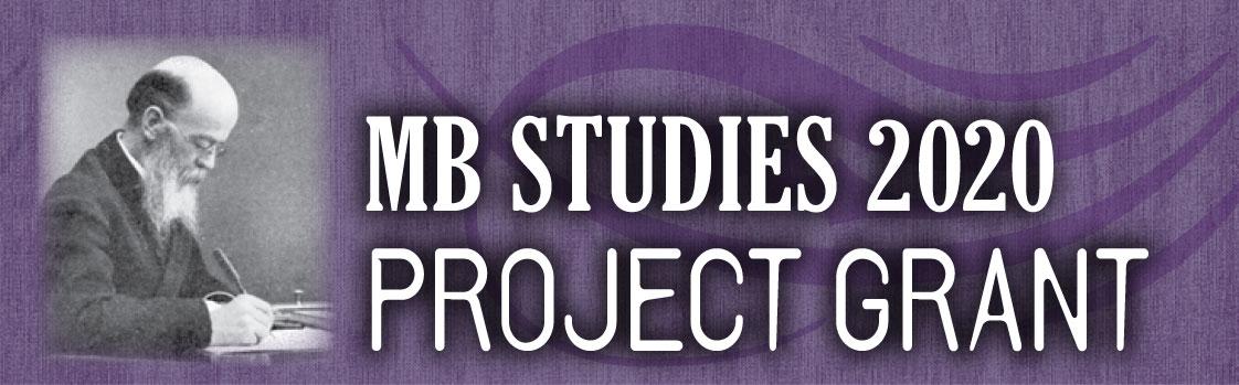 MB Studies 2020 Project Grant