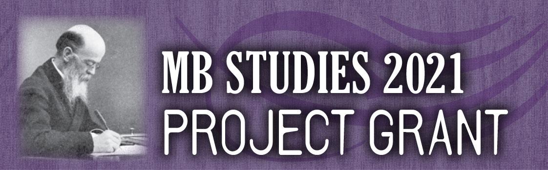 MB Studies 2021 Project Grant