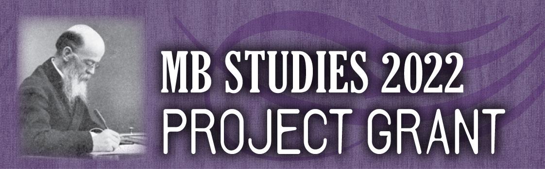 MB Studies 2022 Project Grant