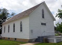Historic Hillsboro MB Church, built in 1893.