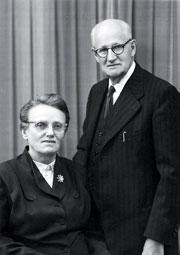 Helen and Cornelius Hiebert