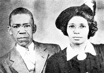 Rondo Horton and his wife Ruth Whittington