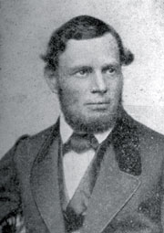 Johann Claassen, who negotiated the recognition of the new movement.
