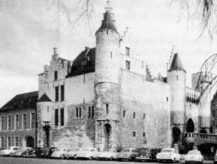 Photograph of Antwerp prison by Jan Gleysteen.