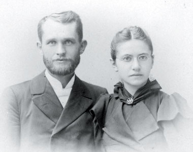 Peter H. and Martha Wedel