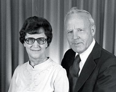 Rev. David B. and Mary Wiens